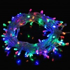 10W 100-LED 8-Mode Multi-Color Christmas Decoration String Light (10M)