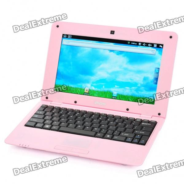 "IMOS A702 10"" LCD Google Android 2.2 Netbook w/ WiFi / RJ45 / 3 x USB / SD - Pink (ARM V5/256MB/2GB)"