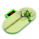 "Kreative 2,5 ""LCD Body Weight Scale - Green (max. 150 kg / 2 x AAA)"