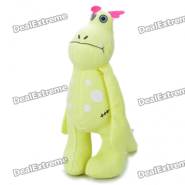 Cool Cartoon Dragon Style Doll Toy - Yellow от DX.com INT