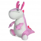 Cute Cartoon Dragon Style Puppe Spielzeug - Pink + White