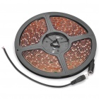Waterproof Car Decorative 24W 700MCD 300-3528 SMD LED Red Light Strip (DC 12V / 5M)