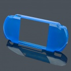 Crystal Protective TPU Soft Case for PSP2000/3000 - Blue