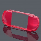 Crystal Protective TPU Soft Case for PSP2000/3000 - Red