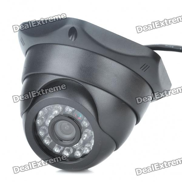 USB 300KP CMOS Surveillance Security Camera Camcorder with 24-LED IR Night Vision (3.6mm-Lens) mini cmos surveillance security camera with 24 led night vision black dc 12v