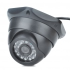 USB 300KP CMOS Surveillance Security Camera Camcorder with 24-LED IR Night Vision (3.6mm-Lens)