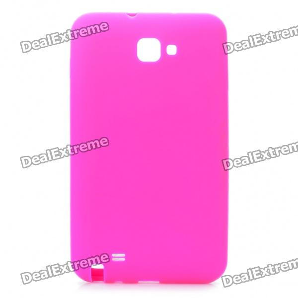 Protective Soft Silicone Case for Samsung i9220 - Deep Pink