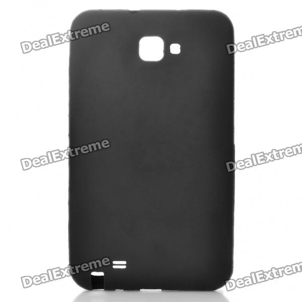 Protective Soft Silicone Case for Samsung i9220 - Black