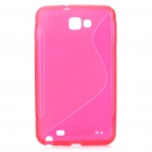 Protective TPU Case for Samsung Galaxy Note i9220 - Red