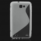 Protective TPU Case for Samsung Galaxy Note i9220 - Transparent White