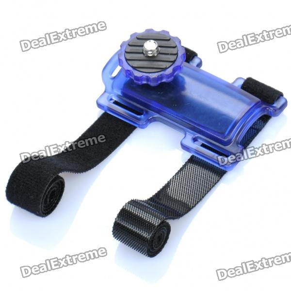 Camera Action Mount Holder for Bicycle - Purple + Black