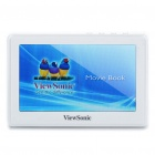 "Portable 4.3"" LTPS Touch Screen Media Player with TV-Out / TF - White (4GB)"
