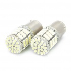 Super Bright 340LM Cold White Light 85*LED SMD LED Car Lamp (2 PCS)