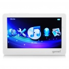 Stylish 4.3&quot; TFT LCD Media Player with TV-Out / TF / Mini USB - White (4GB)