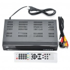 S810B DVB-S Digital Satellite Receiver with SPDIF + USB + DV-OUT + RS232 (Black)
