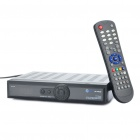 "HD X403P 1.2"" LED DVB-S/DVB-S2 Digital Satellite Receiver w/ RS232 + HDMI + Ethernet + USB + TV"