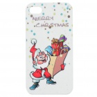 Merry Christmas Santa Claus Pattern Protective Case for Iphone 4S