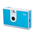 Super Mini 0.3 Mega Pixel Digital Video Camera - Blue + white (1 x AAA)