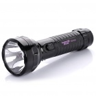 TGX-823 Rechargeable 2-Mode 1-LED White Light Flashlight - Black (AC 110~220V)