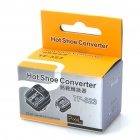 Pixel TF-323 Sony Alpha Flash Hot Shoe Converter Adapter - Black
