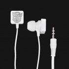 Stylish Transformer Pattern In-Ear Earphone - White (3.5mm-Jack / 102.5cm-Cable)