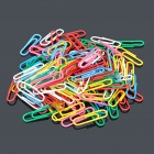 Colorful Paper Clips (Around 100-Pack)