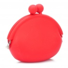 Mini Silicone Coins Purse - Red