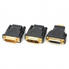 DVI 24+1 Male to HDMI Female + DVI 24+1 to HDMI Male + DVI 18+1 to HDMI Female Converters Set