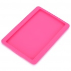 Protective Soft Silicone Case for Kindle 4 - Deep Pink