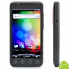 "H5300 Android 2.3 WCDMA 3G Smartphone w/ 4.3"" Capacitive Screen, Dual SIM, Wi-Fi, and GPS - Black"