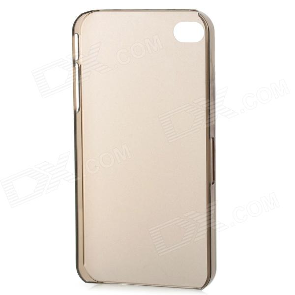 Ultra-Thin Protective Back Case for Iphone 4 - Grey