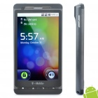 "A4 Android 2.2 Smartphone w/ 4.3"" Capacitive, Dual SIM, GSM, Quadband, GPS and Wi-Fi - Black"