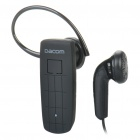 K602 Rechargeable Bluetooth V3.0+EDR Stereo Headset - Black (6-Hour Talk / 120-Hour Standby)