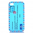 Creative Envelope Style Silicone Protective Case for Iphone 4 / 4S - Blue
