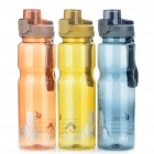 Stylish Traveling Sports Water Bottle Cup with Pop Up Lid - Random Color (850ml)