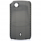 Mesh Protective PC Back Case for Lenovo A66T - Black