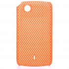 Mesh Protective PC Back Case for Lenovo A66T - Orange
