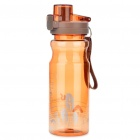Stilvolles Reisen Sports Water Bottle Cup mit Pop Up Deckel - Random Color (650ml)