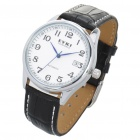 EYKI Stylish Self-Winding Mechanical Wrist Watch w/ Date Display - Black + White