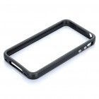 Protective PVC Bumper Frame for iPhone 4S - Black