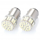 1157 3,2 W 6000K 200-Lumen 50-3020 SMD LED White Light Car Bremslichter (DC 12V / Paar)