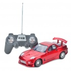 Cool G-Sensor Remote Control Racing Car Toy - Red (4 x AA + 4 x AA)