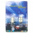 G4 1.8W 135LM lâmpada do carro da luz branca do diodo emissor de luz de 9 * 5050 SMD LED (dc 12V / pair)