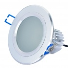 5.5W 5-LED 300LM 6000-7000K White Ceiling Light Lamp - Silver (100-240V)
