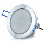 8.8W 7-LED 470LM 6000-7000K White Ceiling Light Lamp - Silver (100-240V)