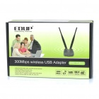 EDUP 500mW 2.4GHz 300Mbps 802.11 b/g/n USB WLAN Wi-Fi Wireless Network Adapter