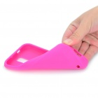 Protective Soft Silicone Case for Samsung Hercules T989 - Deep Pink