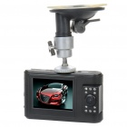"HD 720P 5MP CMOS Weitwinkel Auto DVR Camcorder w / 10-LED IR Nachtsicht / AV-Out / TF (2,5 ""TFT LCD)"