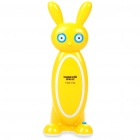Cartoon-Muster Rechargeable Folding 2-Mode 18-LED White Light Desk Lamp - Yellow