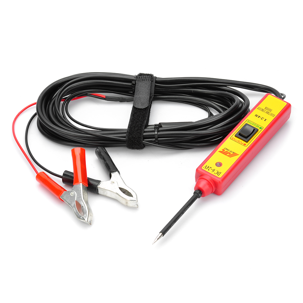 car electric circuit voltage probe tester 4 5m length dc 6 24v rh dx com Electrical Test Leads Automotive Electrical Test Leads